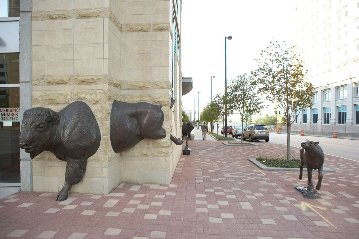 Sculpture Parks, First National Bank