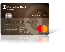Commercial Edition<sup>&#174;</sup> MasterCard<sup>&#174;</sup> Card