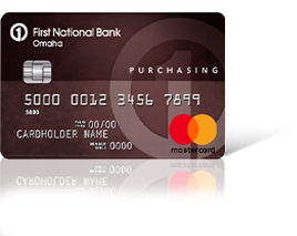 Purchasing Edition<sup>&reg;</sup> MasterCard<sup>&reg;</sup> Card