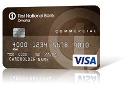 Commercial Edition<sup>&#174;</sup> Visa<sup>&#174;</sup> Card