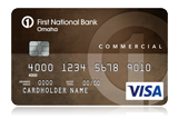 Commercial Edition® Visa® Card