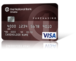 Purchasing Edition<sup>&reg;</sup> Visa<sup>&reg;</sup> Card