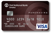 Purchasing Edition® Visa® Card