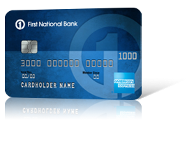 First National Bank American Express<sup>&#174;</sup> Card