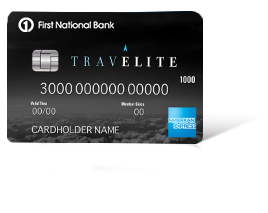 First National Bank TravElite American Express<sup>&#174;</sup> Card<br/><br/> Limited Time Offer