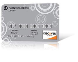 First National Bank Discover<sup>&#174;</sup> Card