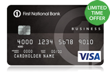 Business Edition<sup>&#174;</sup> Visa<sup>&#174;</sup> Card with Complete Rewards<sup>SM</sup>