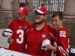 Jeremiah Sirles - Husker Autograph Zone 2014