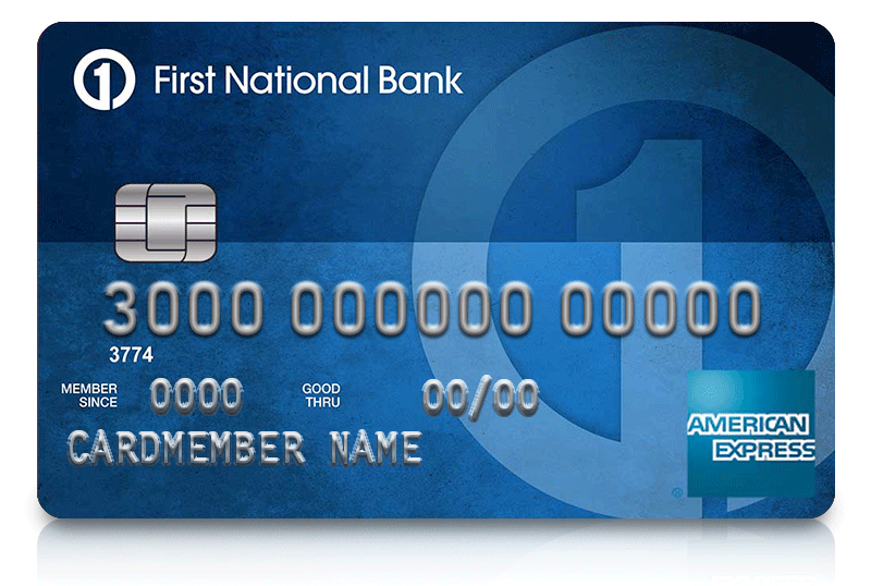 first national bank american express card