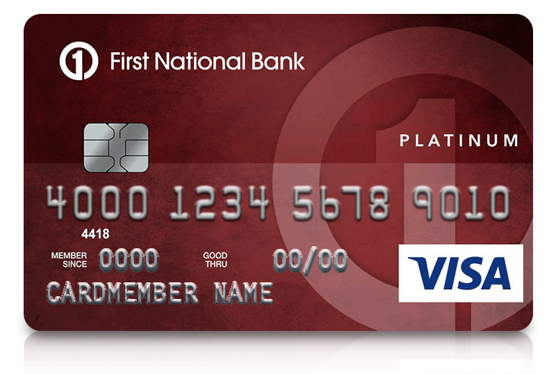 Personal credit cards first national bank of omaha platinum edition visa card reheart Images