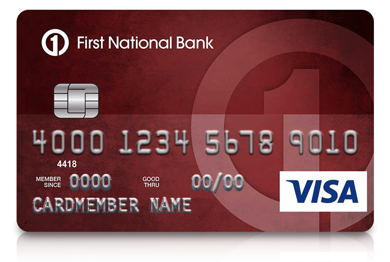 Secured visa credit card first national bank of omaha secured visa card apply now reheart Gallery